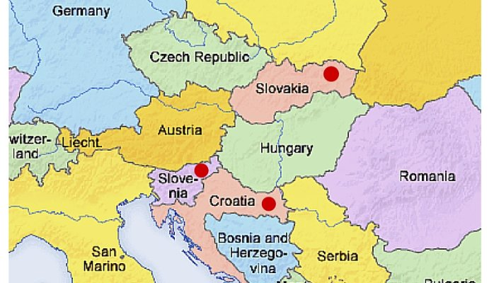 Meetings in Slovenia Slovakia or Slavonia Getting confused tmf