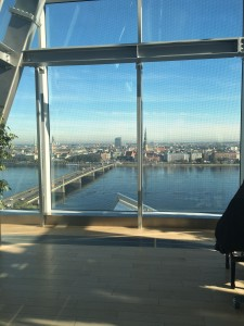 National Library - floors 11 and 12. What a view for receptions or a special meeting!