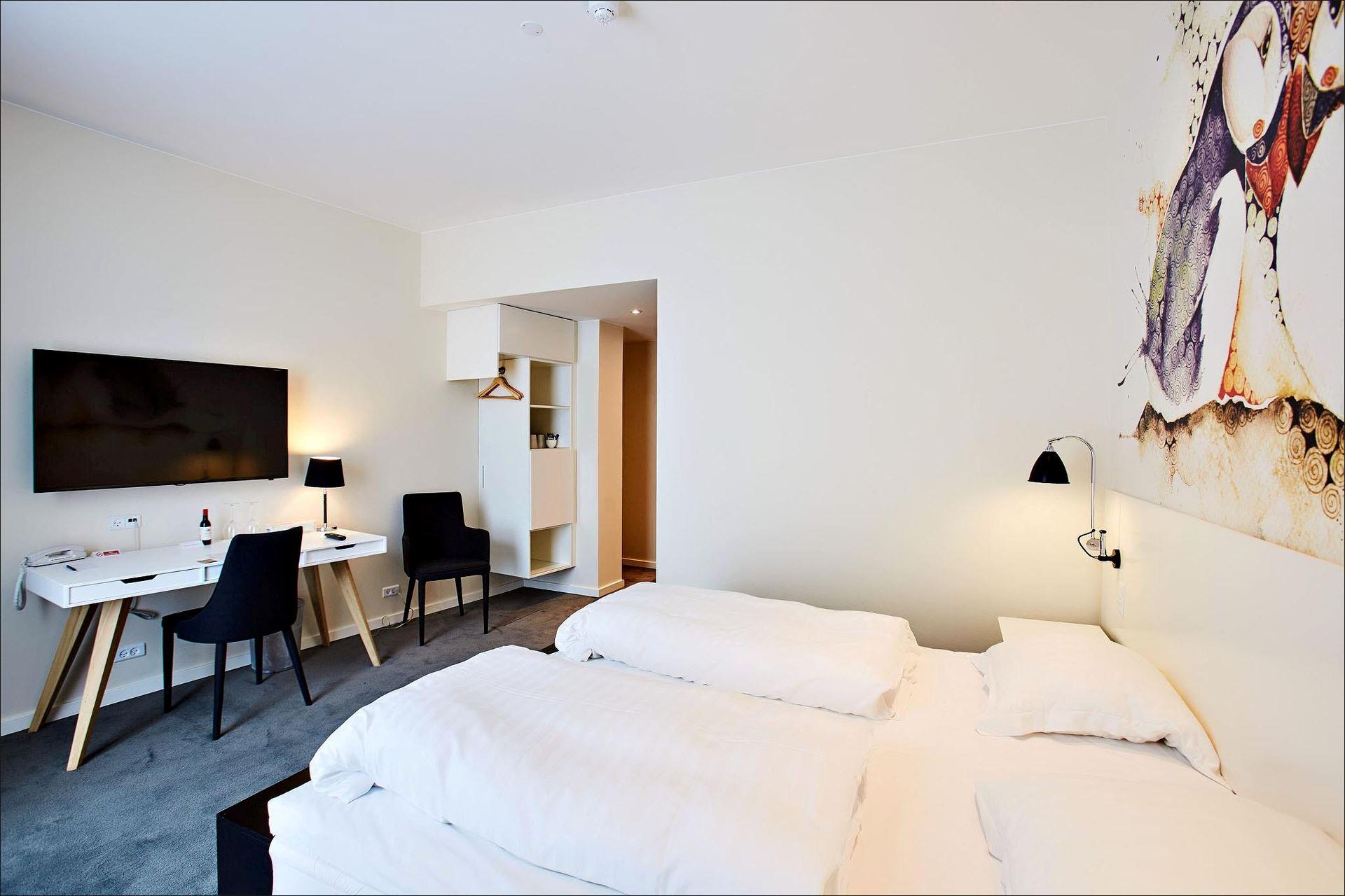New Nordic room at Hotel Hafnia ©Hotel Hafnia