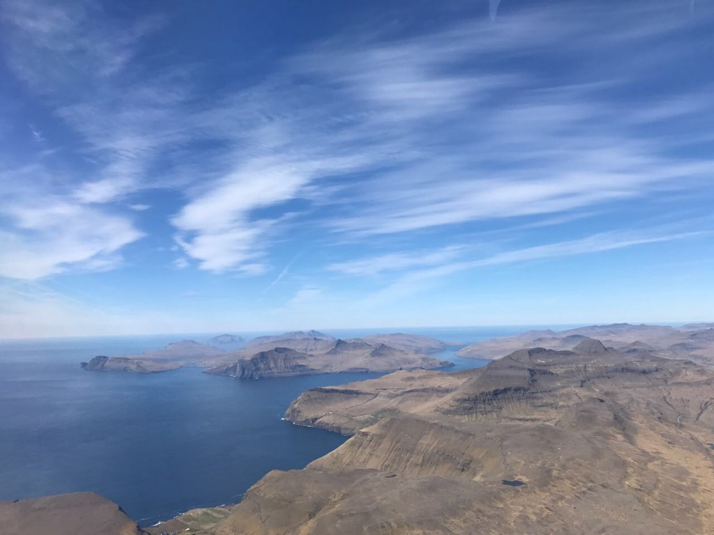 View right before landing at the Vágar airport in the Faroe Islands ©tmf dialogue marketing
