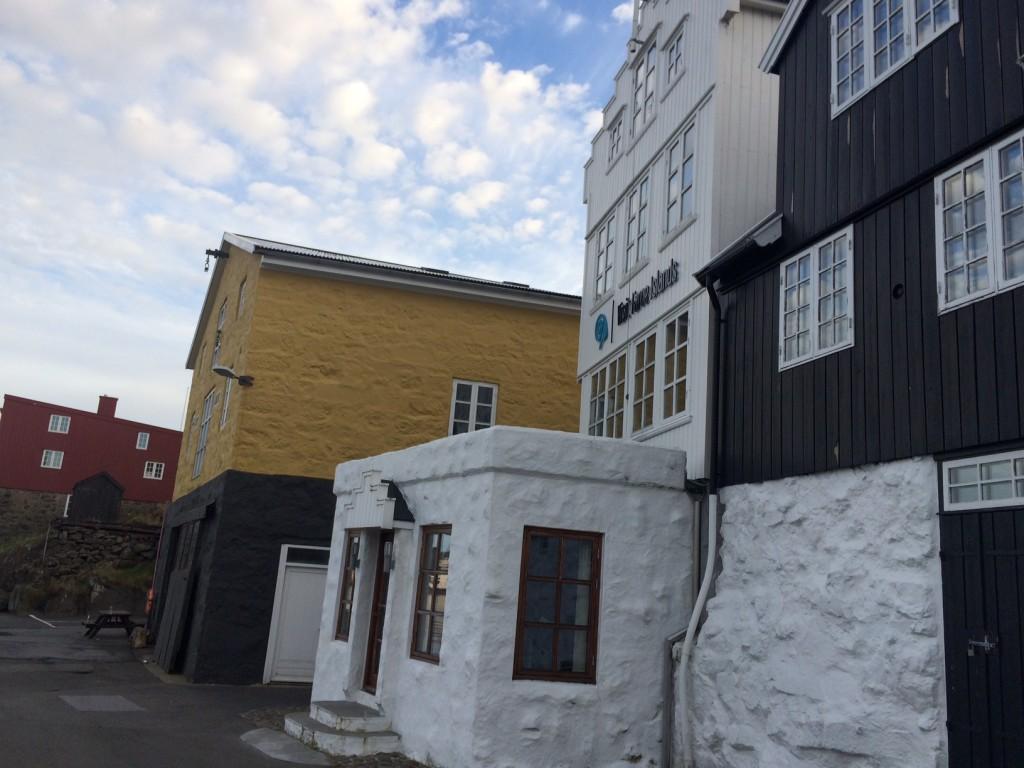 Visit Faroe Island office in the Tórshavn harbour ©tmf dialogue marketing