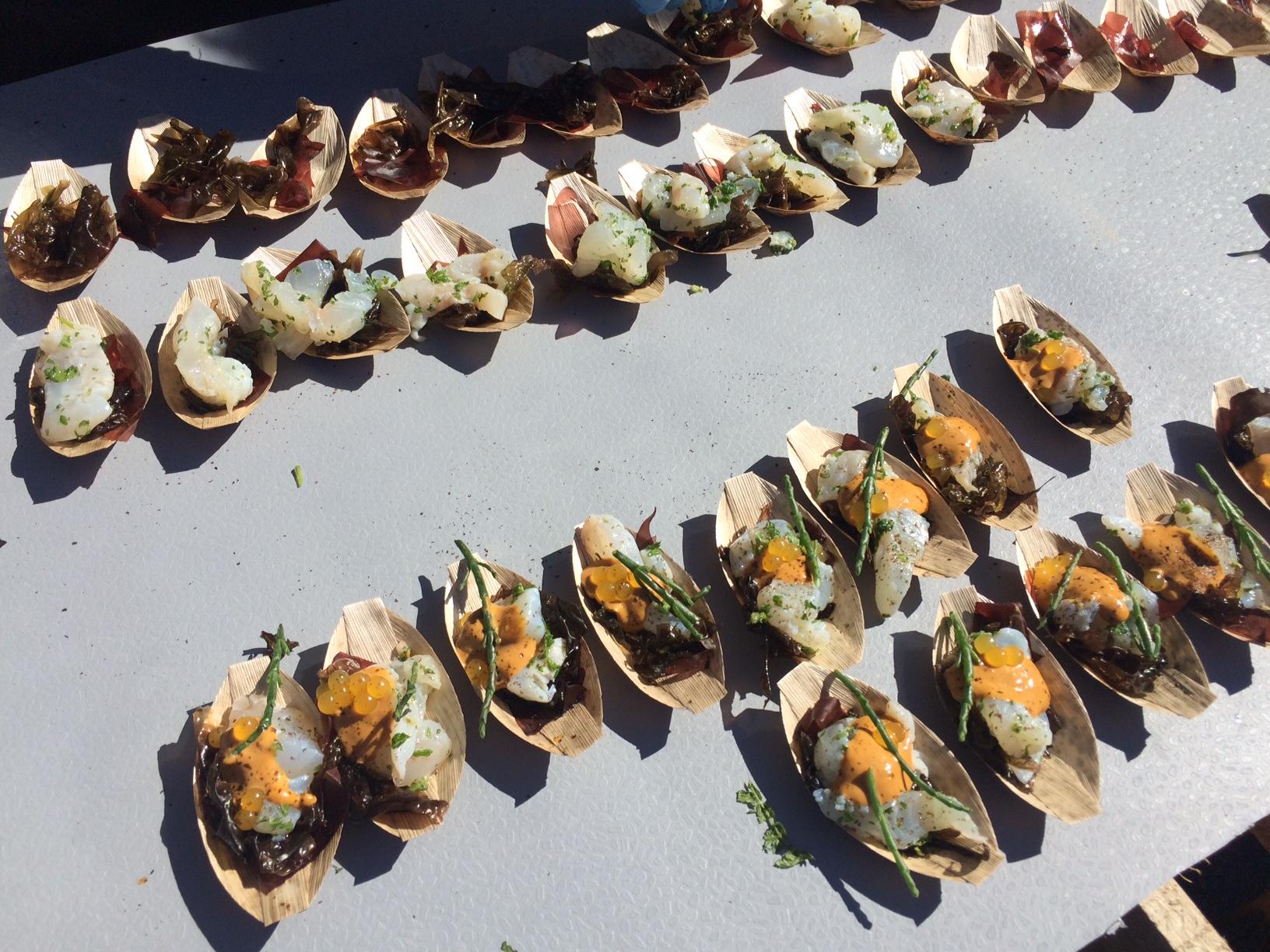 Fresh sea food at the Sea Food Festival in Tórshavn ©tmf dialogue marketing