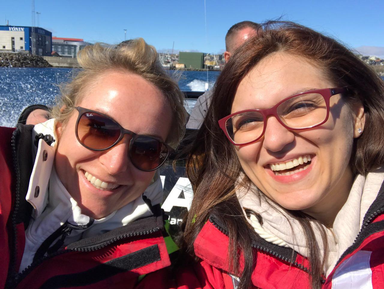 RIB Boat Ride with Franziska Winkler